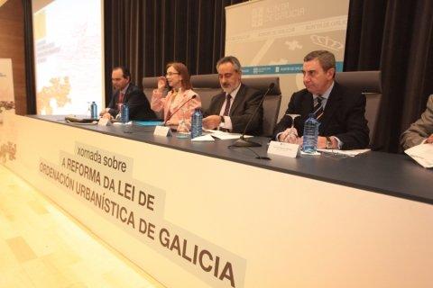 Inauguración - Pontevedra - Novas Xornadas sobre A Reforma da Lei de Ordenación Urbanística de Galicia